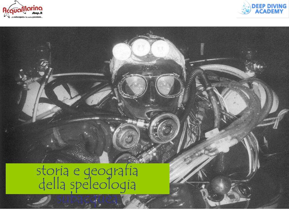 storia e geografia della speleologia subacquea