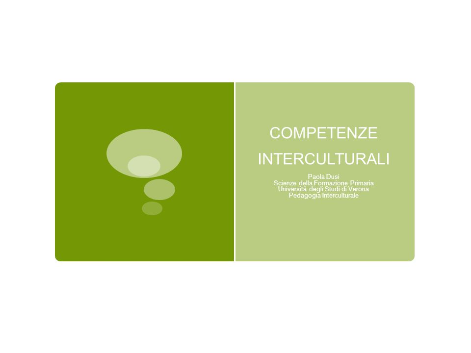 COSTRUTTO di COMPETENZA  Competence is a Complex ability… that… (is) closely related to performance in real life situations (Hartig, Klieme & Leutner, 2008, p.