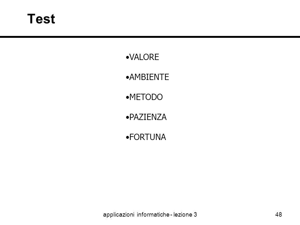 applicazioni informatiche - lezione 347 Realizzazione ELASTICITA' P.M. C.A.S.E. RISORSE TEMPI