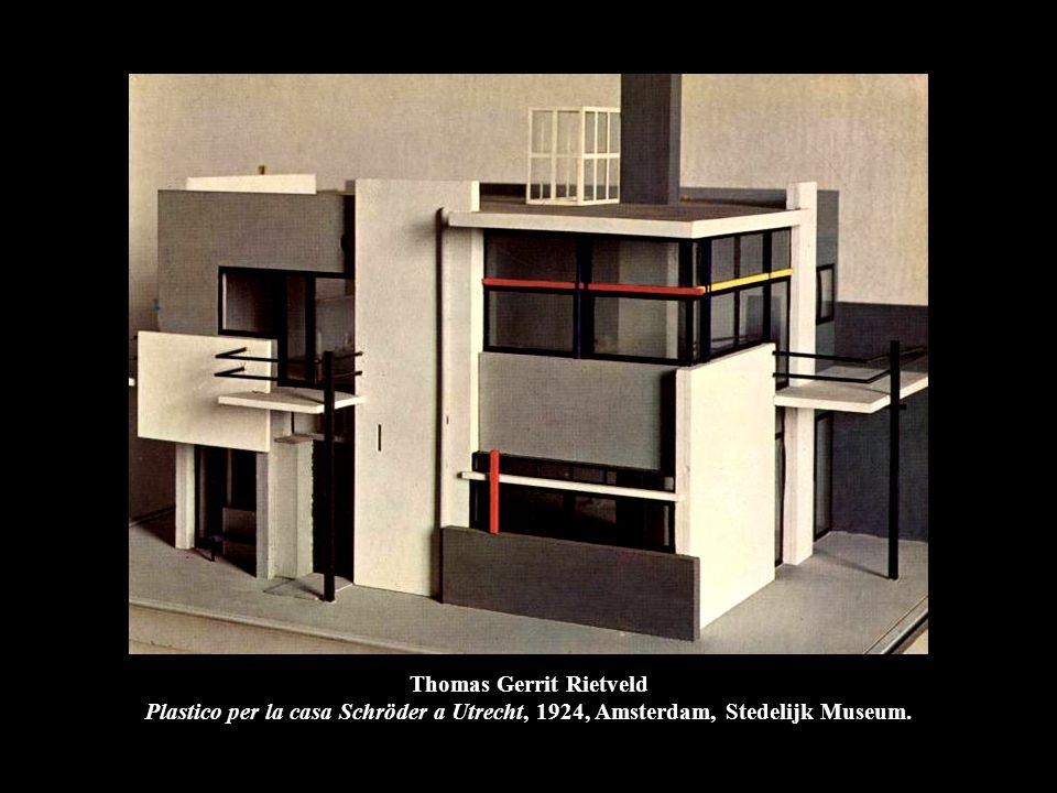 Thomas Gerrit Rietveld Plastico per la casa Schröder a Utrecht, 1924, Amsterdam, Stedelijk Museum.