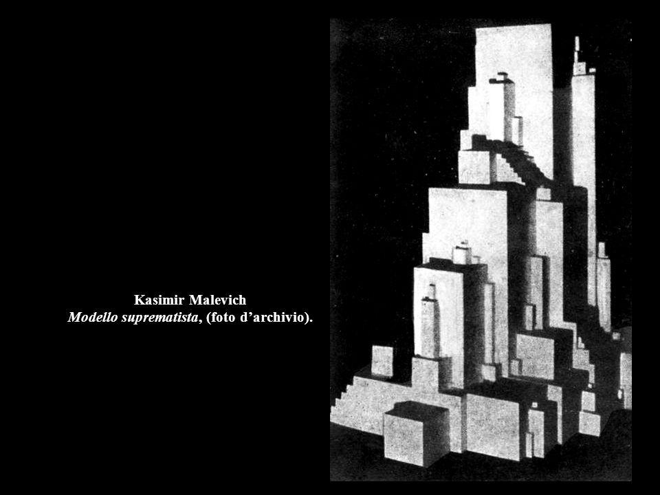 Kasimir Malevich Modello suprematista, (foto d'archivio).