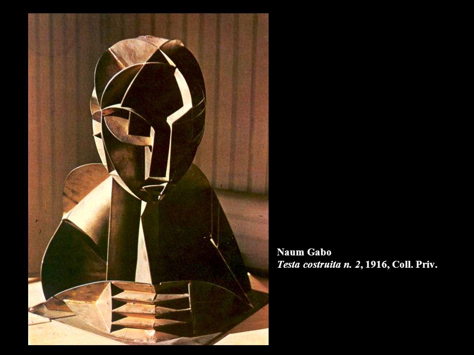 Naum Gabo Testa costruita n. 2, 1916, Coll. Priv.