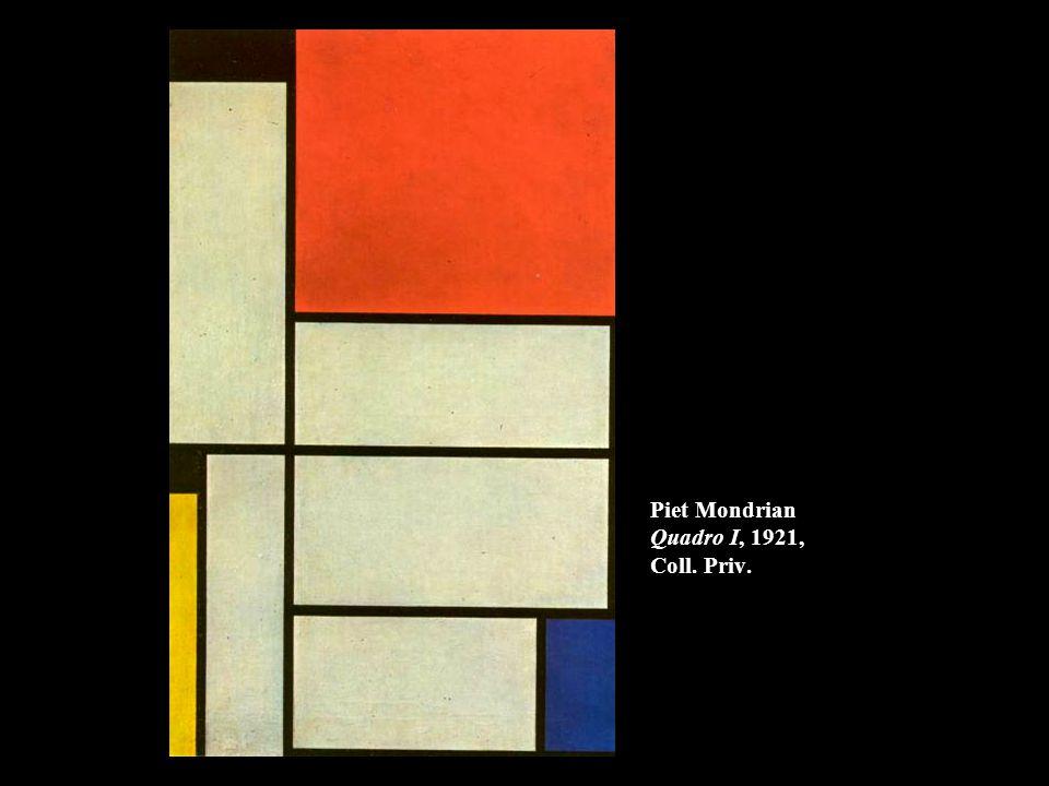 Piet Mondrian Quadro I, 1921, Coll. Priv.