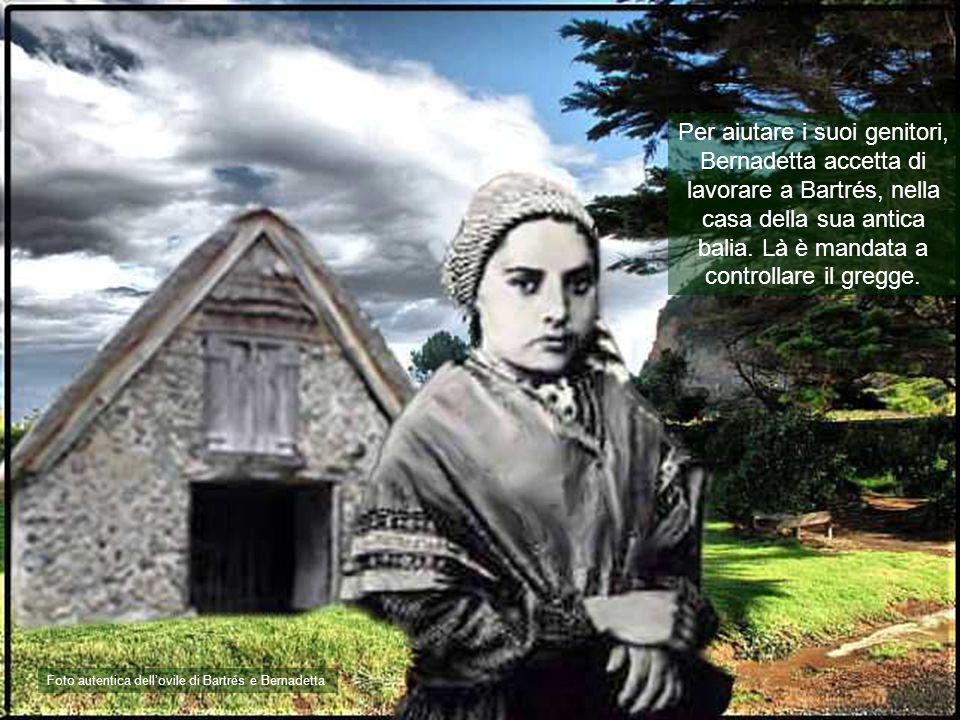 Per aiutare i suoi genitori, Bernadetta accetta di lavorare a Bartrés, nella casa della sua antica balia.