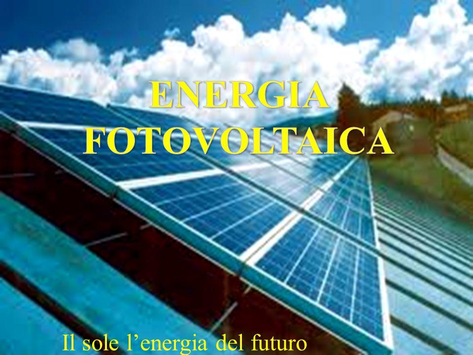 Il sole l'energia del futuro