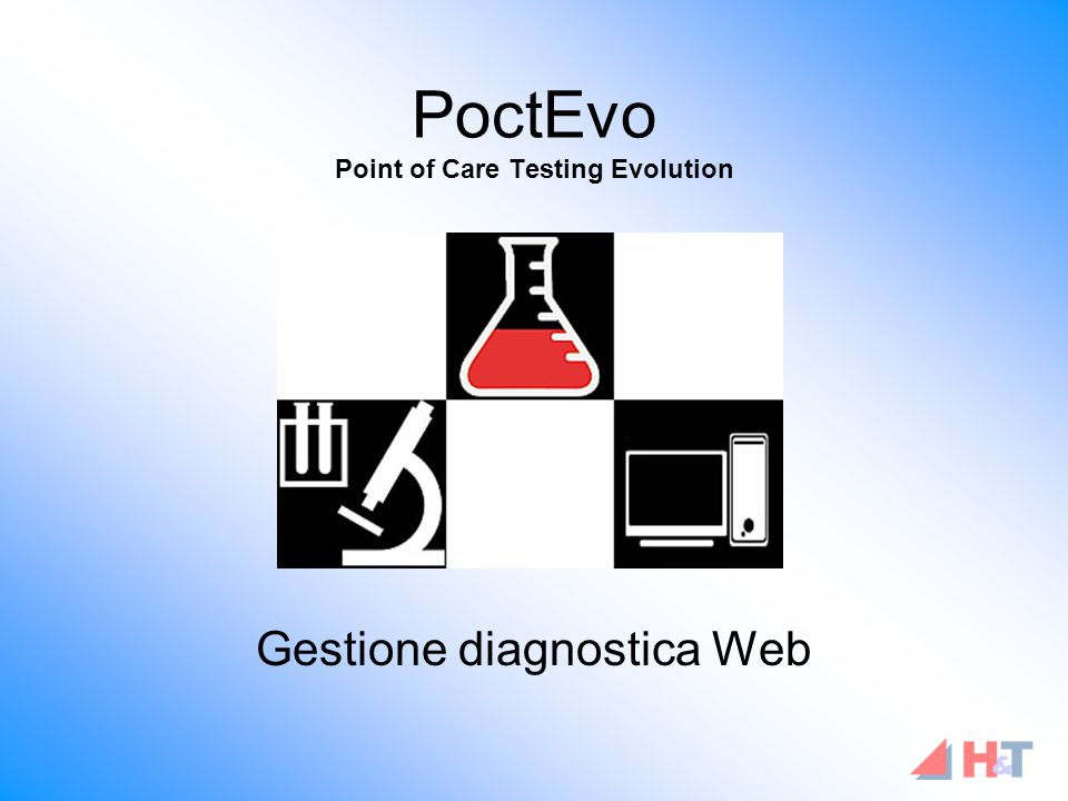 PoctEvo Point of Care Testing Evolution Gestione diagnostica Web