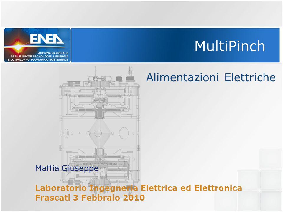 MultiPinch Alimentazioni Elettriche Maffia Giuseppe Laboratorio Ingegneria Elettrica ed Elettronica Frascati 3 Febbraio 2010