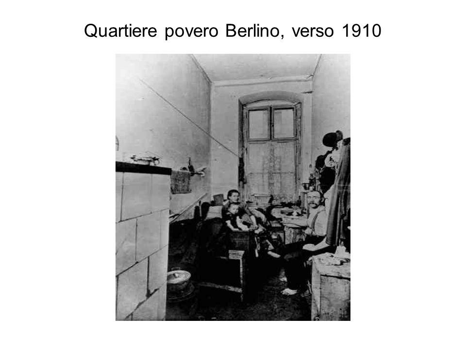 Quartiere povero Berlino, verso 1910