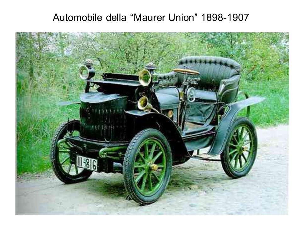 Automobile della Maurer Union 1898-1907