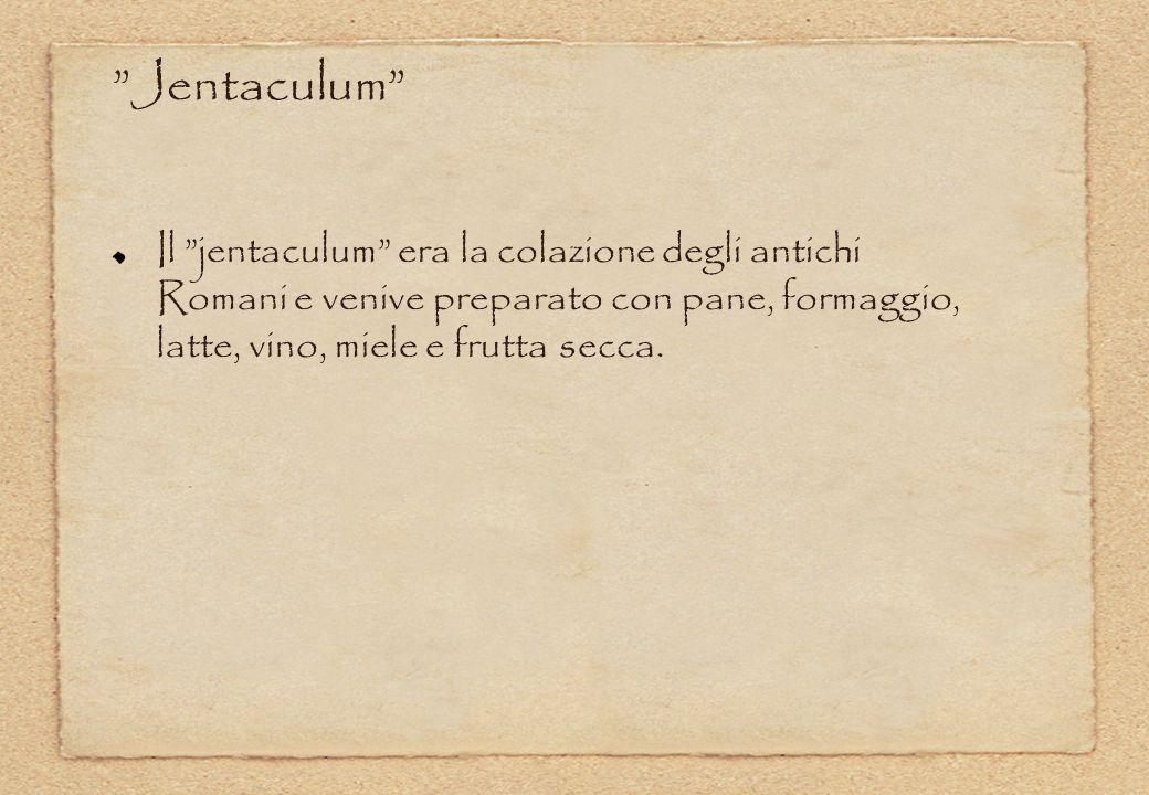 """Il """"jentaculum"""" era la colazione degli antichi Romani e venive preparato con pane, formaggio, latte, vino, miele e frutta secca. """"Jentaculum"""""""