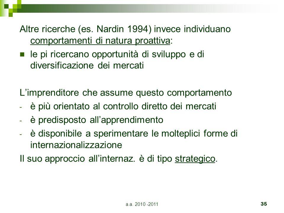 a.a.2010 -201135 Altre ricerche (es.