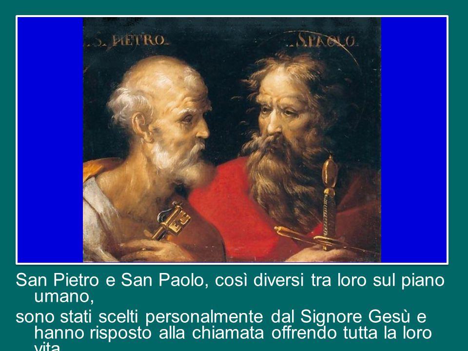 Fin dai tempi antichi la Chiesa di Roma celebra gli Apostoli Pietro e Paolo in un'unica festa nello stesso giorno, il 29 giugno. La fede in Gesù Crist