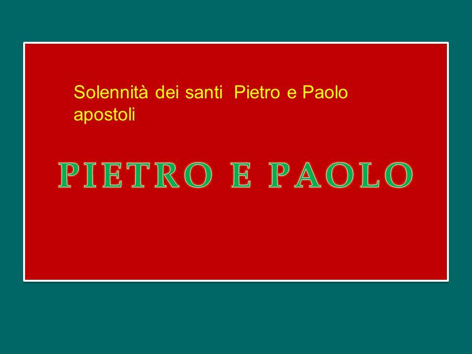 Hodie Simon Petrus ascendit crucis patibulum, alleluia: Oggi Simon Pietro sale sul patibolo della croce, alleluia