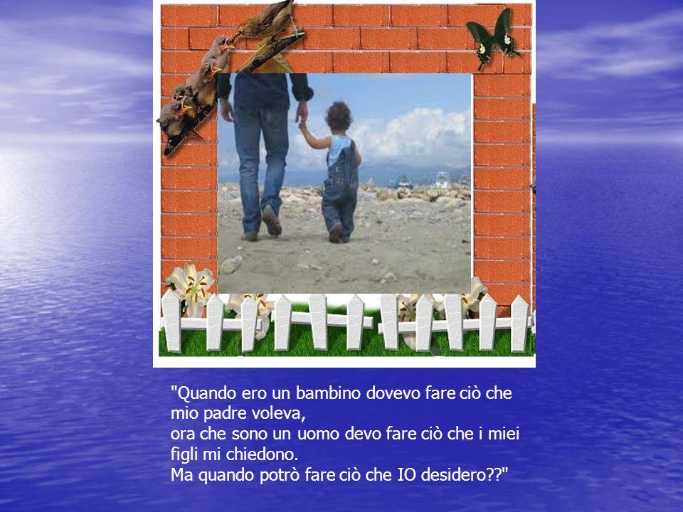 Per un padre, quando muore un figlio muore il futuro; Per un figlio, quando muore il padre, muore il passato.