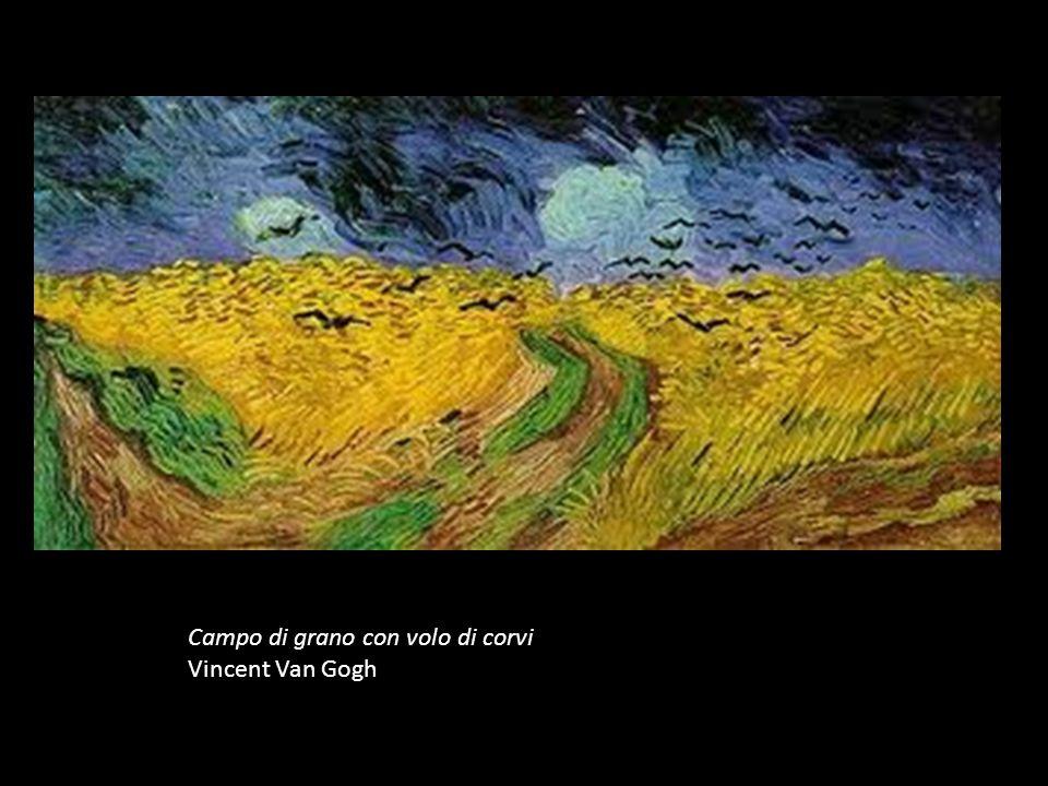 Campo di grano con volo di corvi Vincent Van Gogh