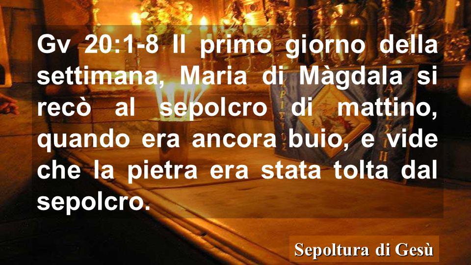 Piazza della Chiesa del S. Sepolcro Andiamo alla tomba, Gesù ci attende