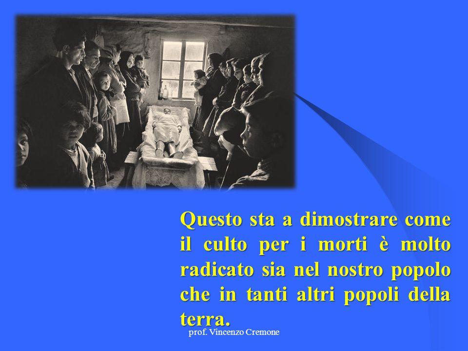 prof. Vincenzo Cremone Gli influssi antichi rimangono, ma vengono dati significati diversi.