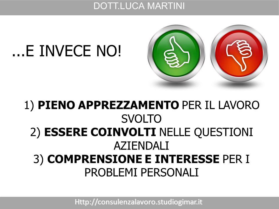 Http://consulenzalavoro.studiogimar.it DOTT.LUCA MARTINI ATTENZIONE!