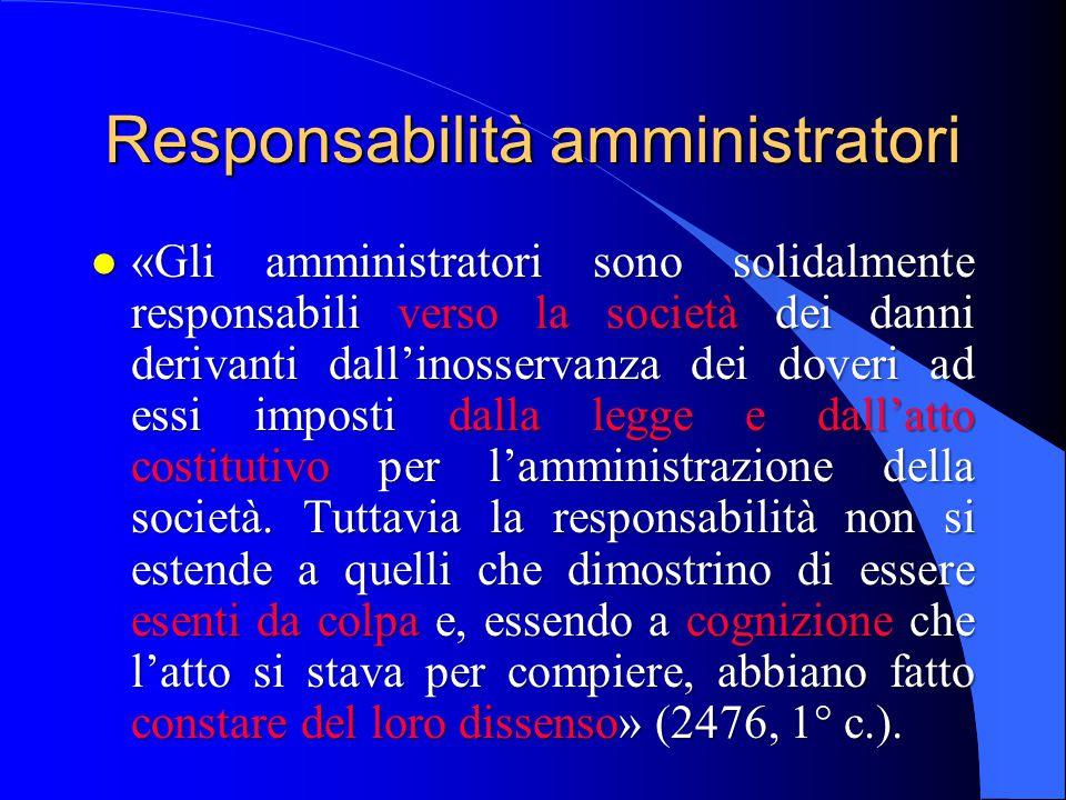 Conflitto di interessi (2475-ter) l i contratti conclusi dagli amministratori in conflitto di interessi possono essere annullati dalla società, se il conflitto era conosciuto o conoscibile dal terzo (comma 1).