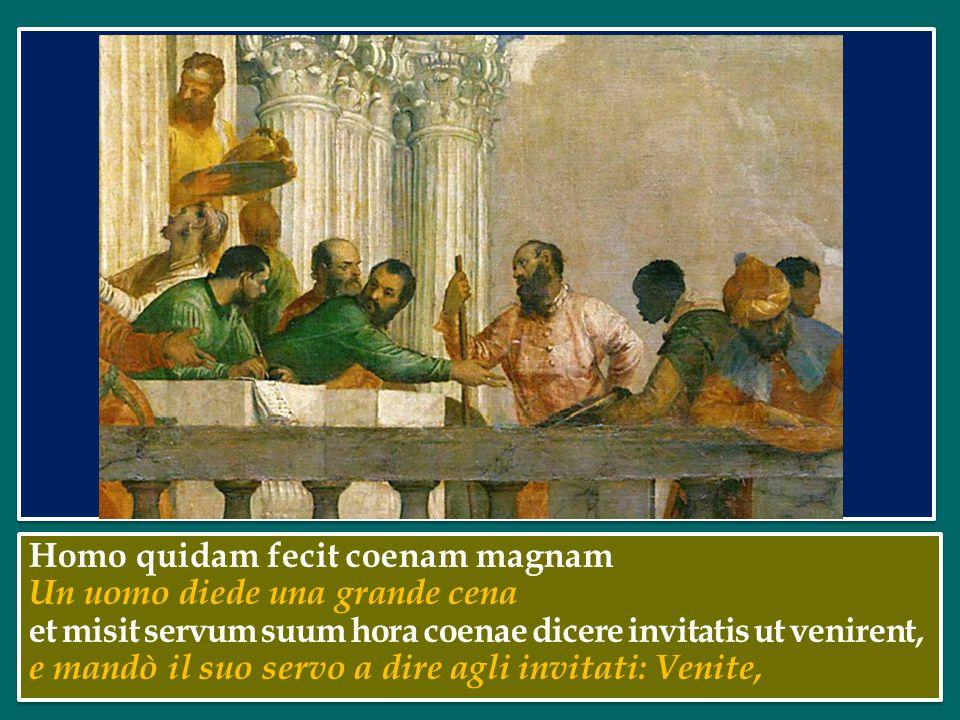 nel Vangelo di questa domenica, Gesù ci parla della risposta che viene data all'invito di Dio – rappresentato da un re – a partecipare ad un banchetto di nozze (cfr Mt 22,1-14).