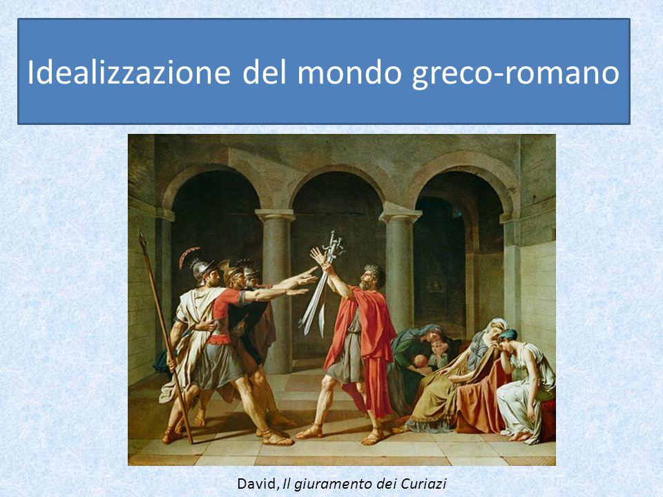 Idealizzazione del mondo greco-romano David, Il giuramento dei Curiazi