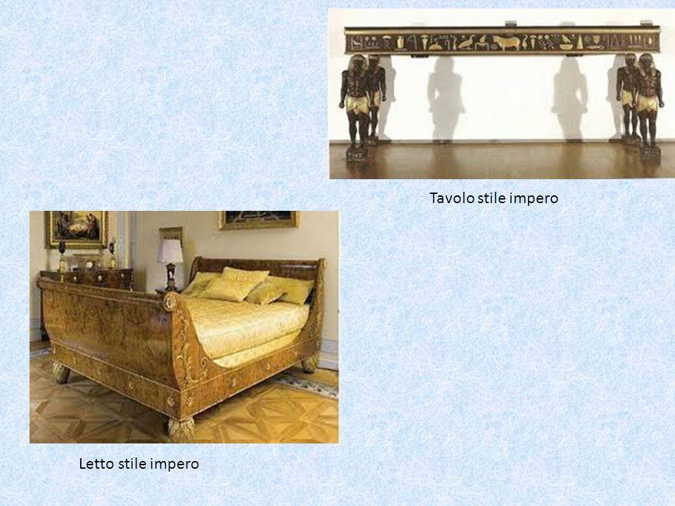 Letto stile impero Tavolo stile impero