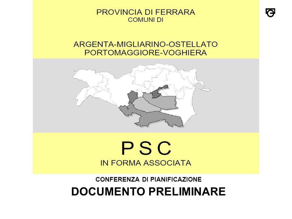 CONFERENZA DI PIANIFICAZIONE DOCUMENTO PRELIMINARE