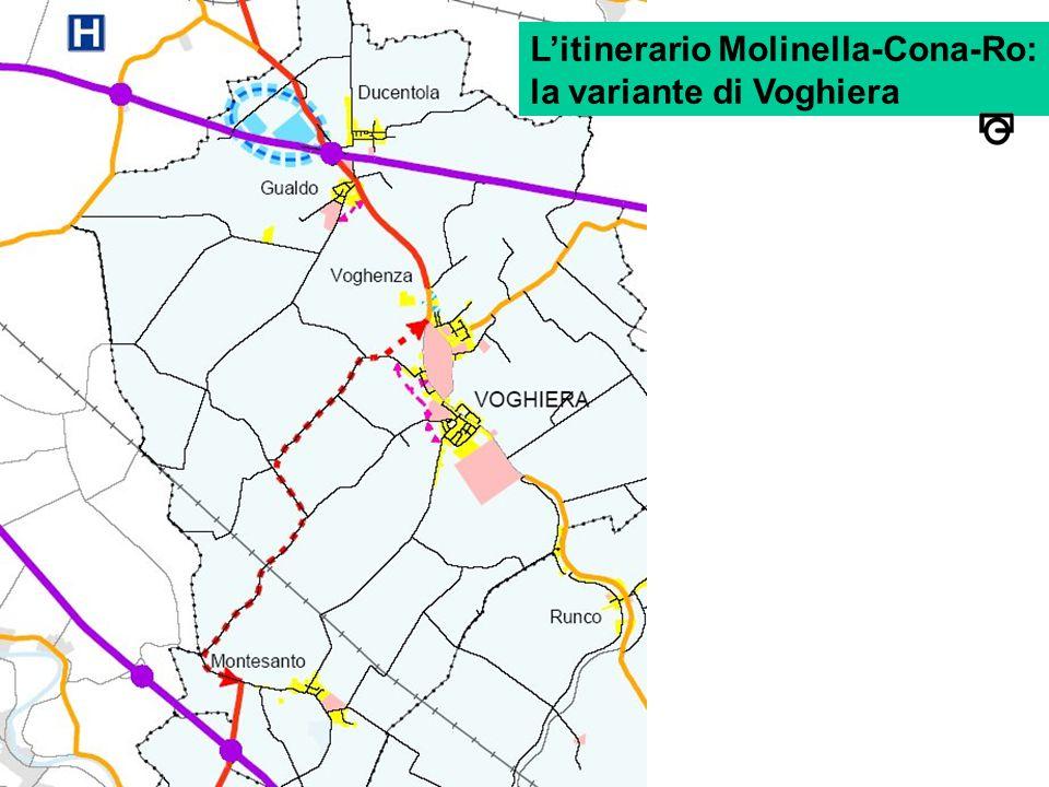 L'itinerario Molinella-Cona-Ro: la variante di Voghiera