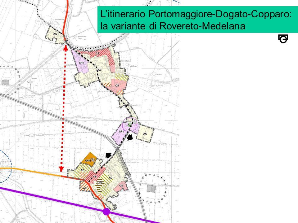 L'itinerario Portomaggiore-Dogato-Copparo: la variante di Rovereto-Medelana