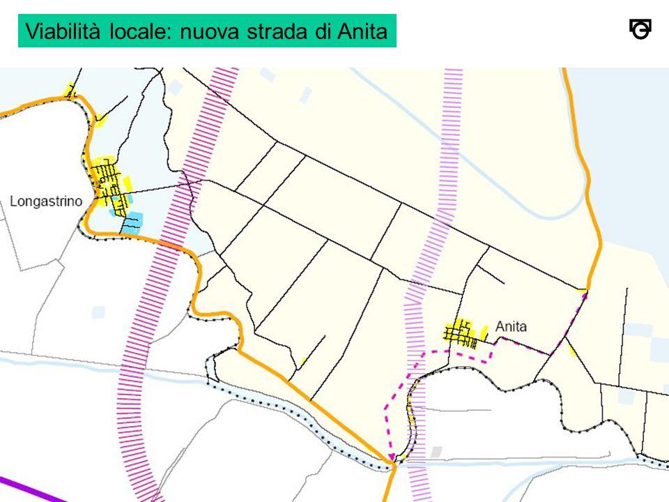 Viabilità locale: nuova strada di Anita