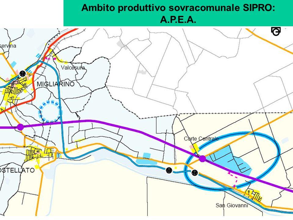 Ambito produttivo sovracomunale SIPRO: A.P.E.A.