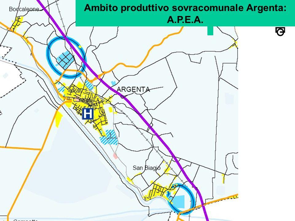 Ambito produttivo sovracomunale Argenta: A.P.E.A.