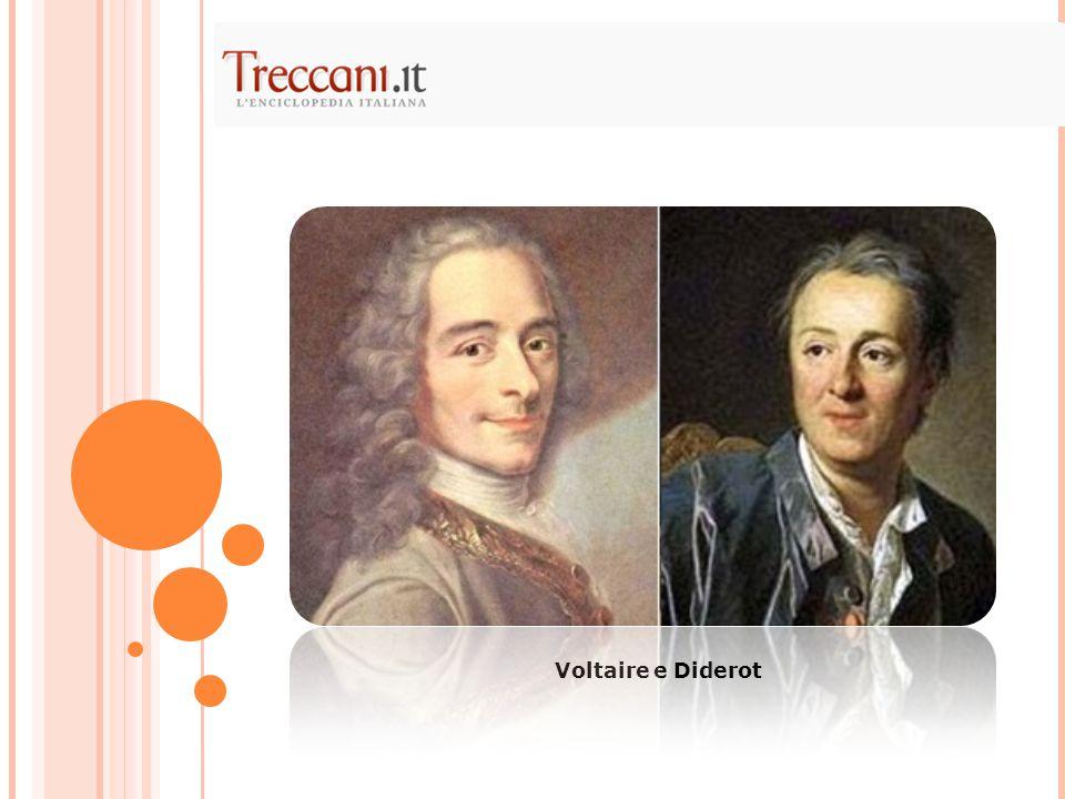 Voltaire e Diderot