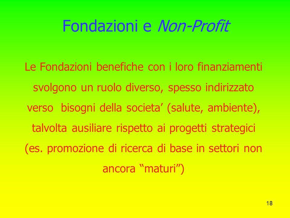 17 La fuga dei cervelli Perché i migliori talenti italiani vanno a fare ricerca all'estero: - maggiori finanziamenti - trasparenza e meritocrazia (no