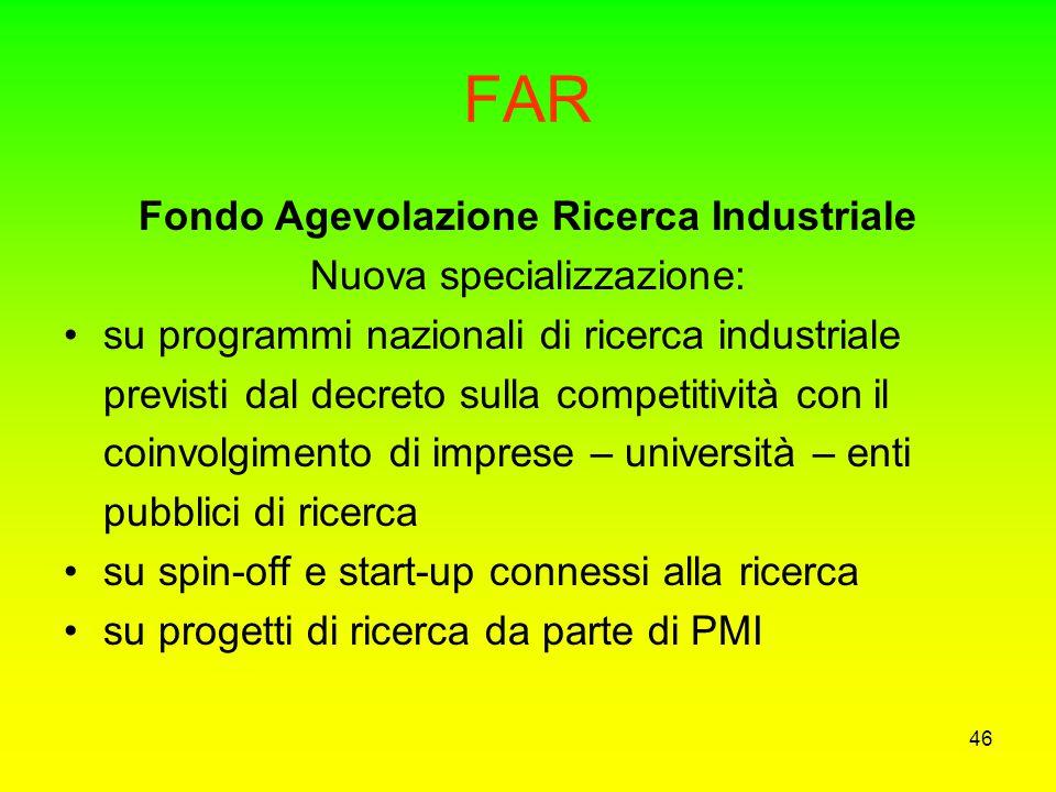 """45 FIRB Fondo Investimenti Ricerca di Base Sviluppo della rete di laboratori pubblico-privato di eccellenza sulla ricerca di base """"mission-oriented"""" S"""