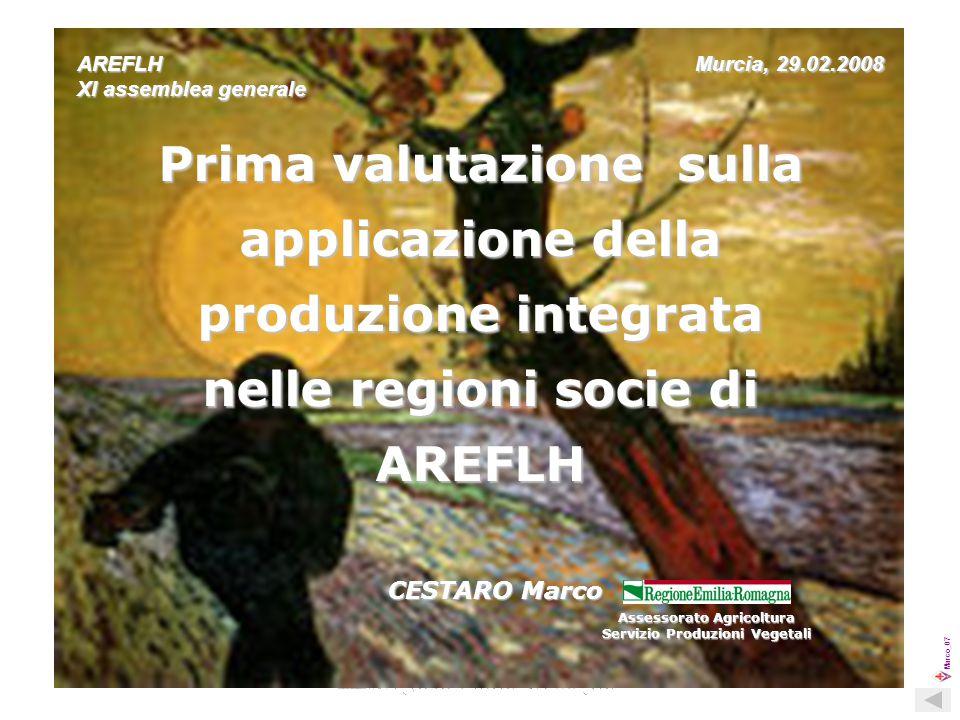 Marco_07 2 La valutazione proposta è basata sui dati indicati nel questionario inviato da AREFLH a tutte le Regioni socie.