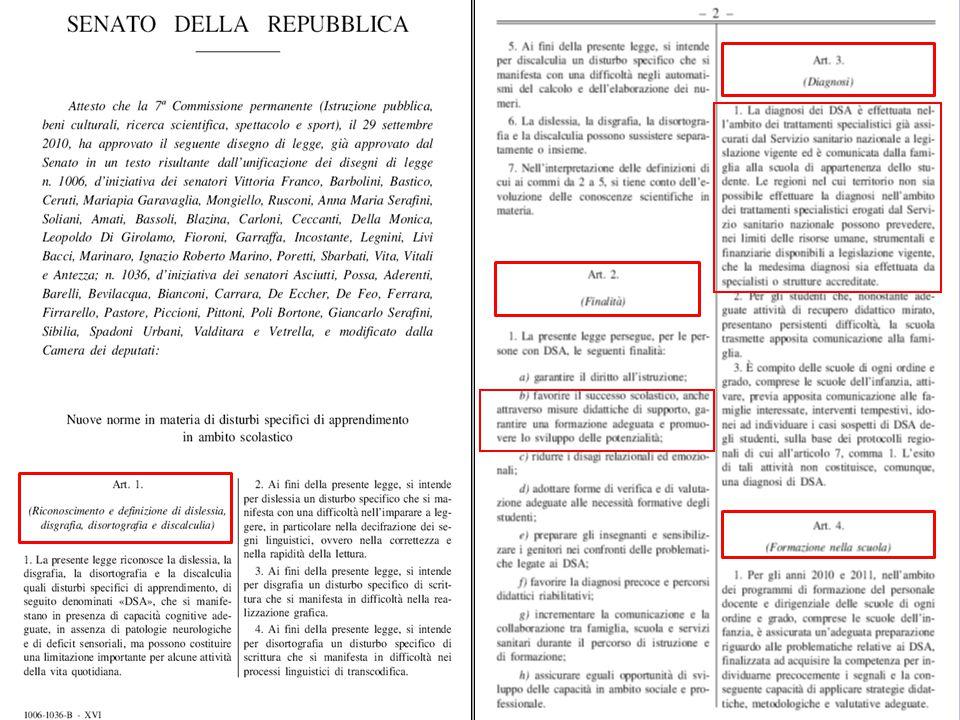 Legge 170 - Decreto n.5669 del 12 luglio 2011 -Linee Guida-