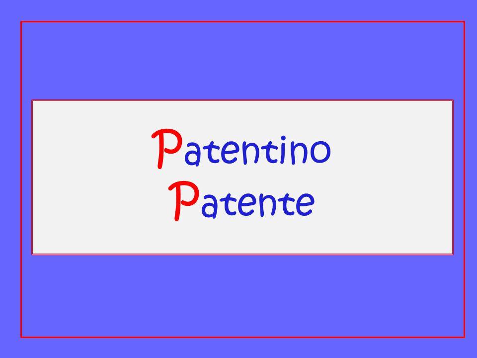 P atentino P atente