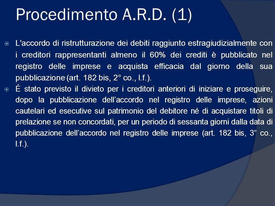 Procedimento A.R.D.