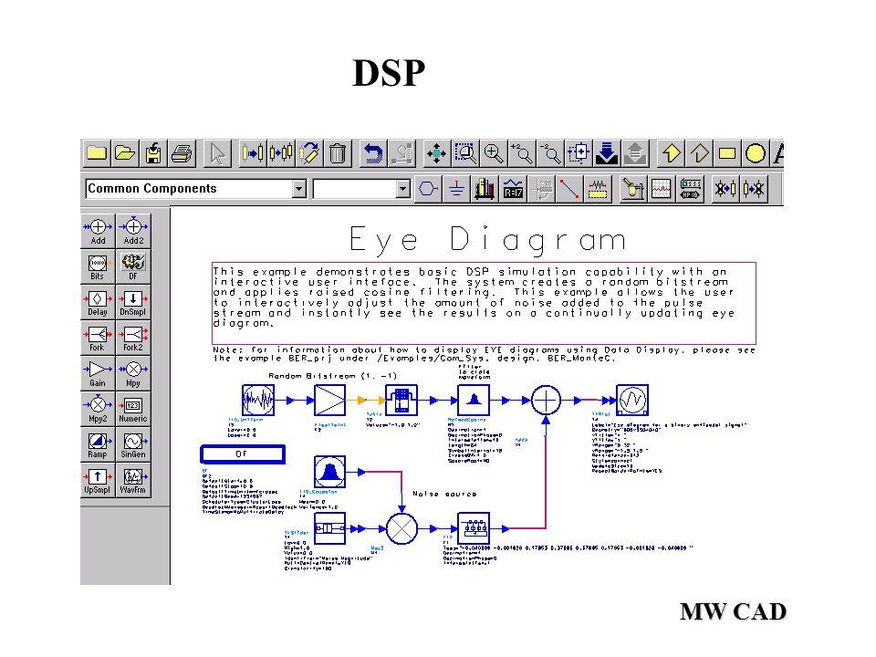 MW CAD DSP