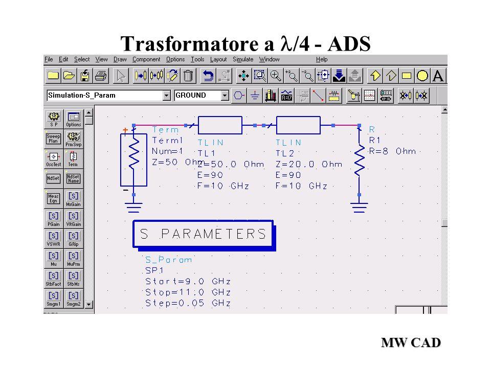 MW CAD Trasformatore a /4 - ADS
