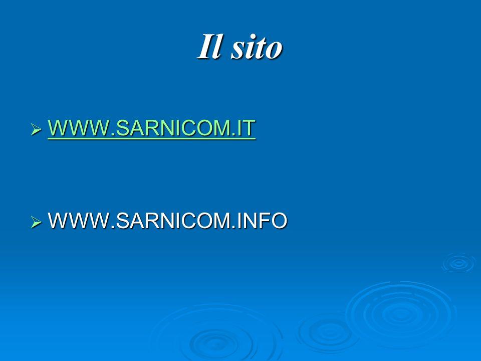 Il sito WWWW WWWW WWWW.... SSSS AAAA RRRR NNNN IIII CCCC OOOO MMMM....