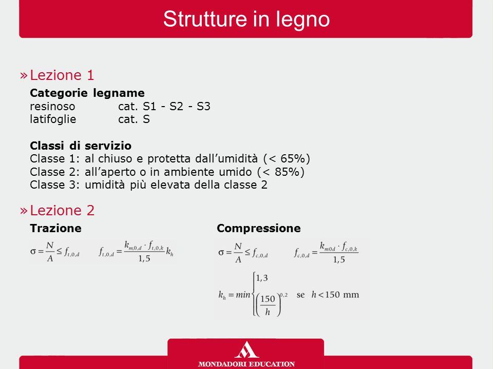 »Lezione 1 Categorie legname resinosocat. S1 - S2 - S3 latifogliecat.