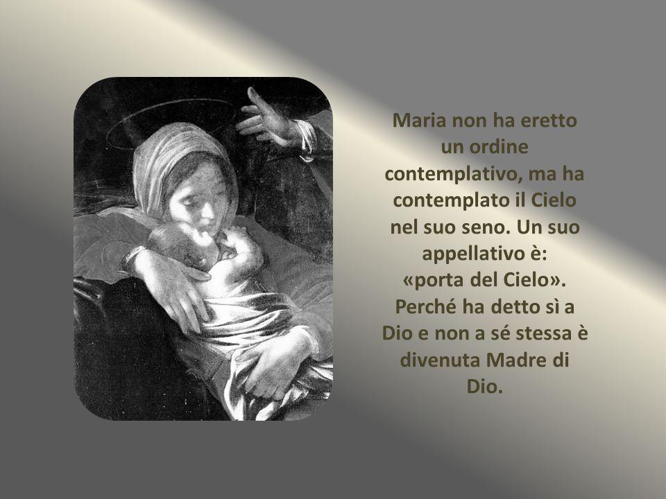 ma è chiamata ed è «salute degli infermi», «consolatrice degli afflitti», «rifugio dei peccatori», «aiuto dei cristiani», e tutti quelli che la conoscono, ricorrono a Lei come a una mamma.