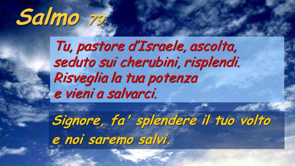 Il salmo 79 forma parte del gruppo di salmi d'Assaf (72-82) scritti nel VI sec.