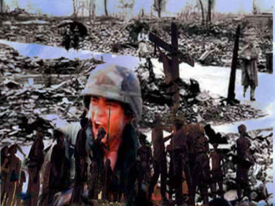 Nelle tue mani , prega chi è rimasto con le mani vuote per la guerra.