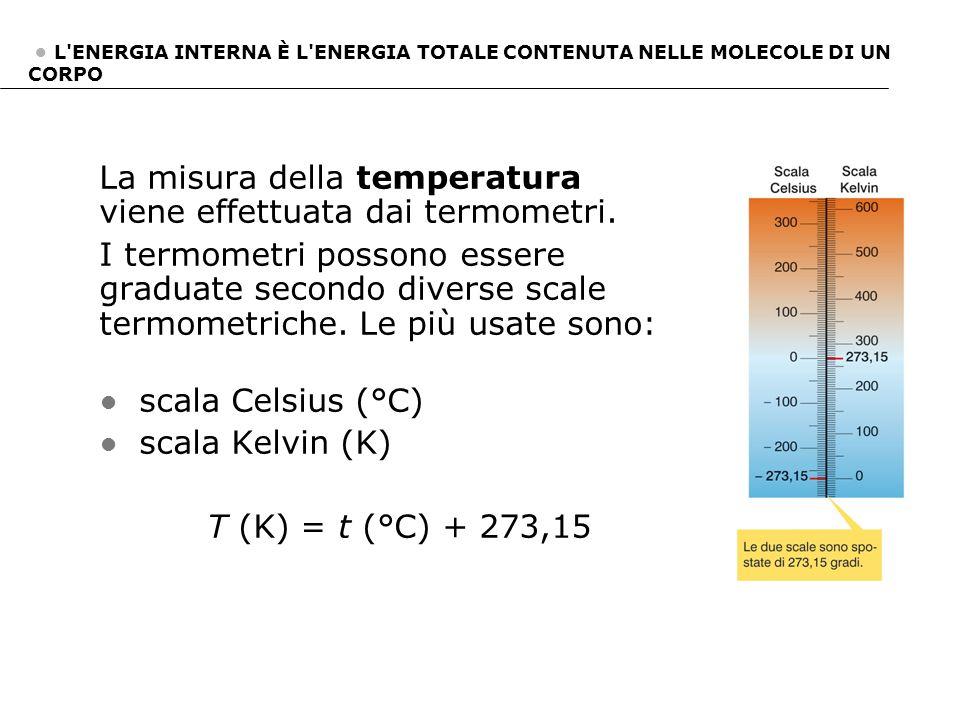 La misura della temperatura viene effettuata dai termometri. I termometri possono essere graduate secondo diverse scale termometriche. Le più usate so