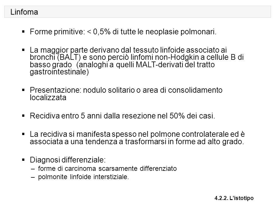 Neoplasie mesenchimali maligne 4.2.2.