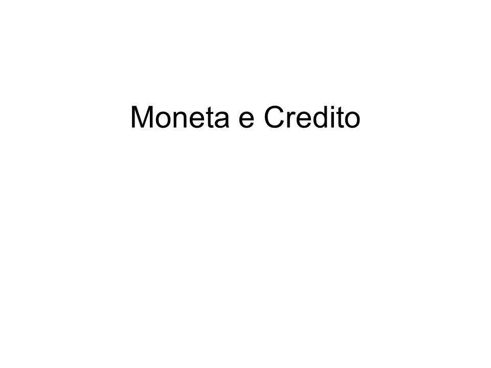 Moneta e Credito