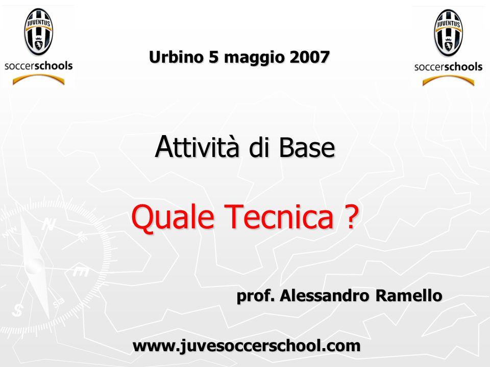 A ttività di Base Quale Tecnica . Urbino 5 maggio 2007 prof.